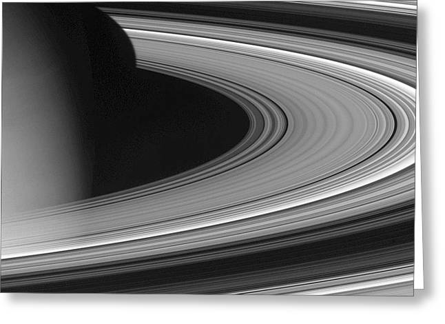 27 Greeting Cards - Saturns Rings Greeting Card by NASA  Science Source