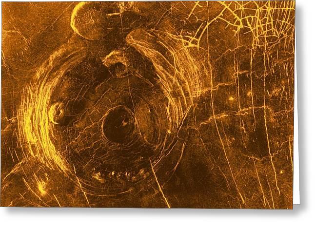 Aperture Greeting Cards - Venus, Synthetic Aperture Radar Map Greeting Card by Detlev Van Ravenswaay