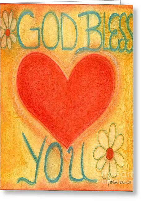 Encouraging Pastels Greeting Cards - Artwithheart.com Greeting Card by Patricia