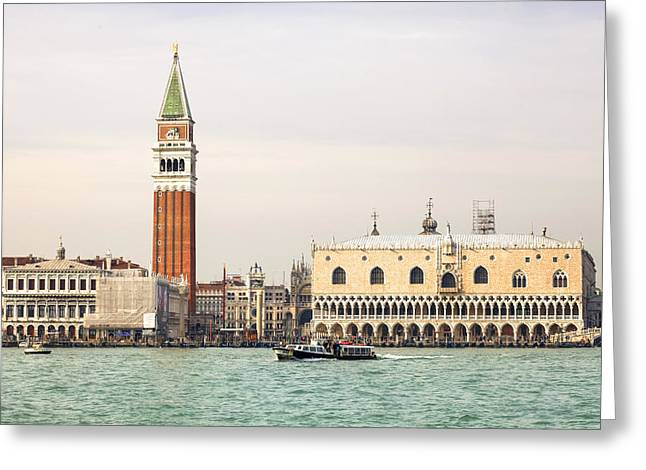 St. Marks Greeting Cards - Venezia Greeting Card by Joana Kruse