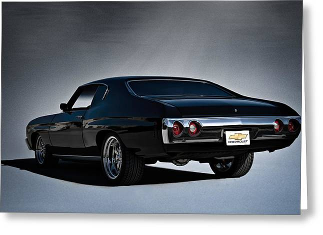 Hotrod Greeting Cards - 72 Chevelle Greeting Card by Douglas Pittman
