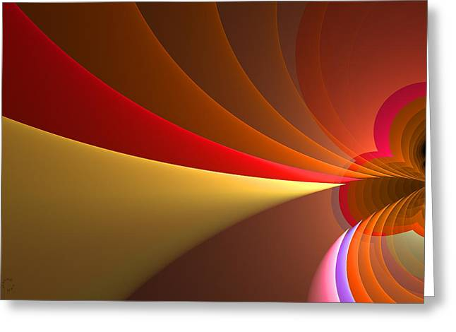 Generative Abstract Greeting Cards - 751 Greeting Card by Lar Matre