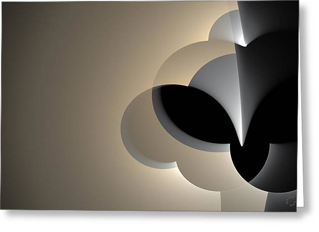Generative Abstract Greeting Cards - 788 Greeting Card by Lar Matre