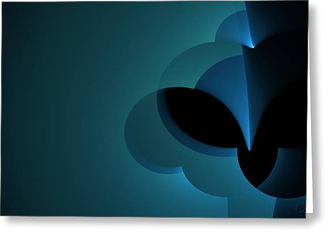 Generative Abstract Greeting Cards - 789 Greeting Card by Lar Matre