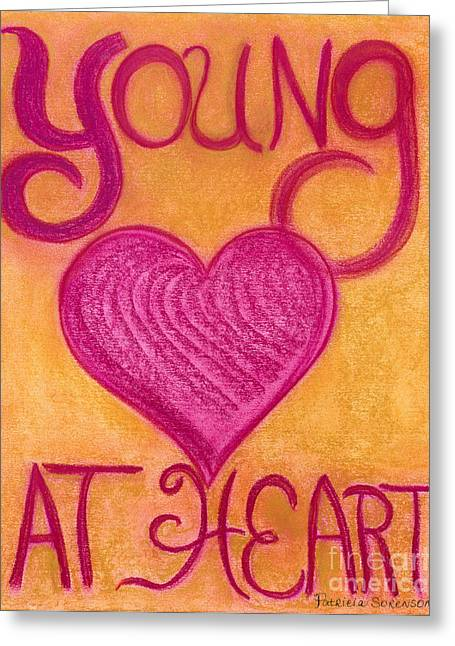 Youthful Pastels Greeting Cards - Artwithheart.com Greeting Card by Patricia