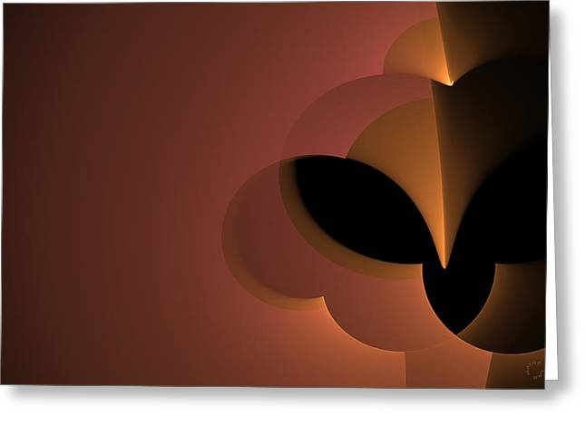 Generative Abstract Greeting Cards - 790 Greeting Card by Lar Matre