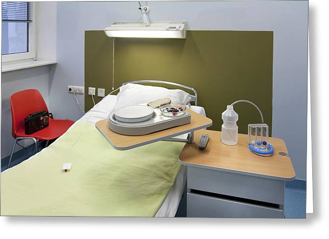 Medical Supplies Greeting Cards - Estonia. University Hospital Sports Greeting Card by Jaak Nilson