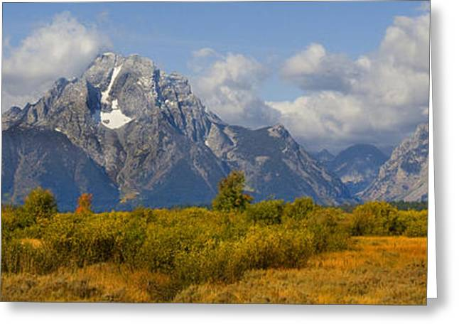 Autum Greeting Cards - Grand Tetons Greeting Card by Mark Smith