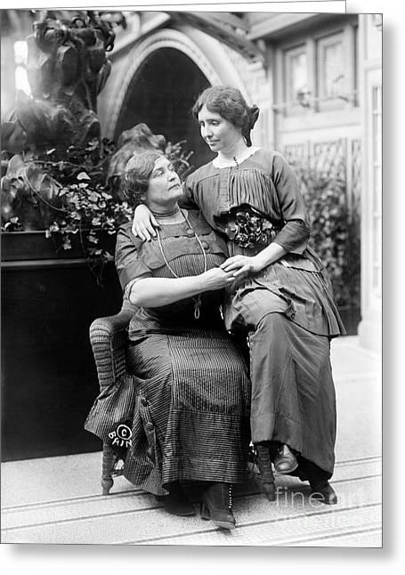 Educators Greeting Cards - Helen Adams Keller Greeting Card by Granger