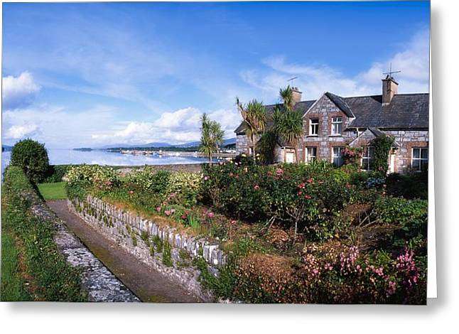 Garden Statuary Greeting Cards - Kenmare Bay, Dunkerron Islands, Co Greeting Card by The Irish Image Collection