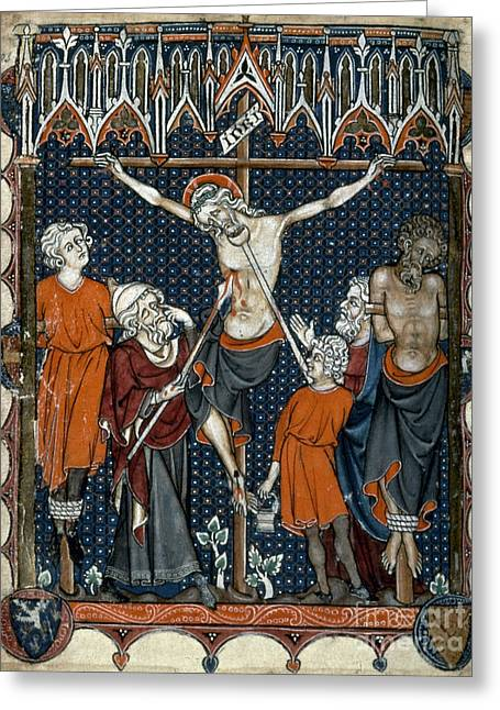 The Crucifixion Greeting Card by Granger