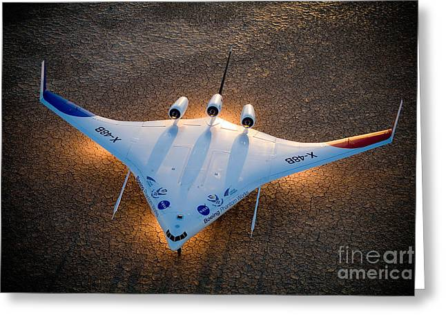 X48b Blended Wing Body Greeting Card by Nasa