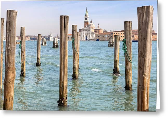 San Marcos Greeting Cards - Venezia Greeting Card by Joana Kruse