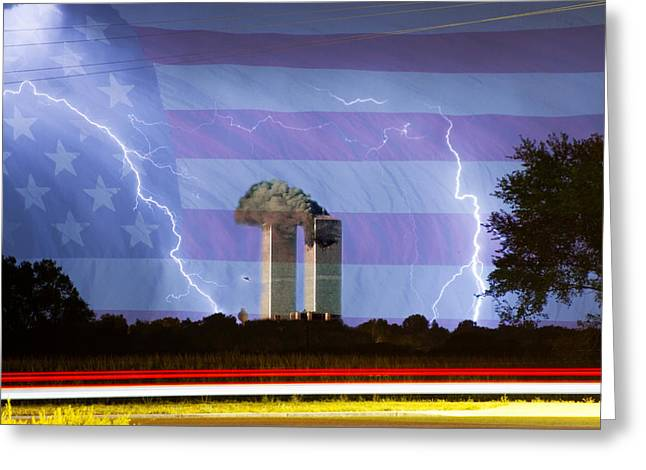 9-11 We Will Never Forget 2011 Greeting Card by James BO  Insogna