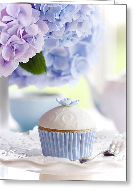 Frosting Greeting Cards - Afternoon tea Greeting Card by Ruth Black