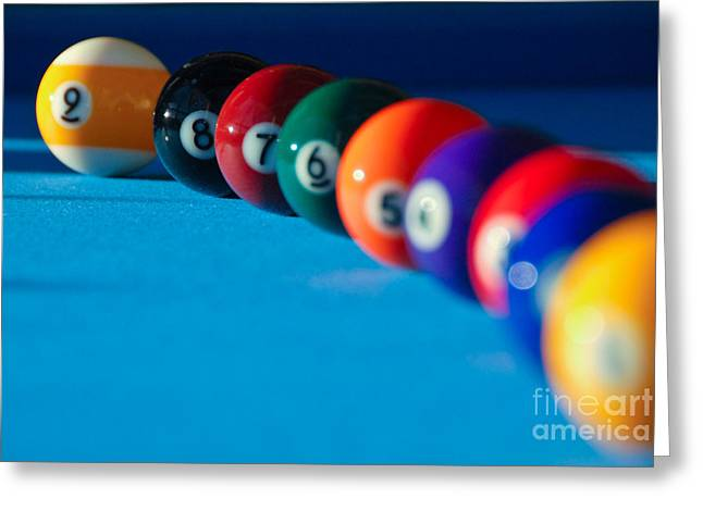 Marko Greeting Cards - 9 Ball Greeting Card by Marko Moudrak