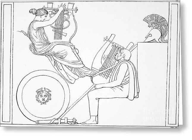 Lyrist Greeting Cards - Homer: The Iliad Greeting Card by Granger
