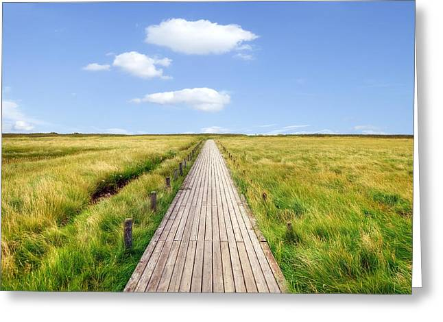 Boardwalk Greeting Cards - Kampen - Sylt Greeting Card by Joana Kruse