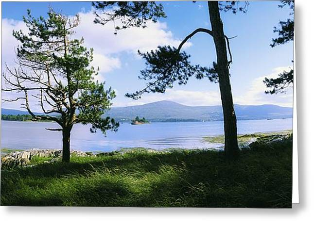 Ocean Panorama Greeting Cards - Kenmare Bay, Dunkerron Islands, Co Greeting Card by The Irish Image Collection