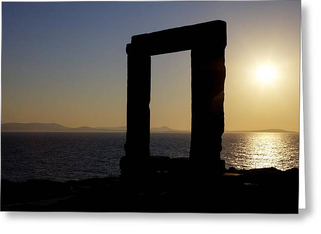 Naxos - Cyclades - Greece Greeting Card by Joana Kruse