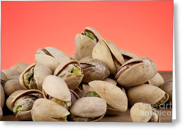 Allergy Greeting Cards - Pistachios  Greeting Card by Blink Images