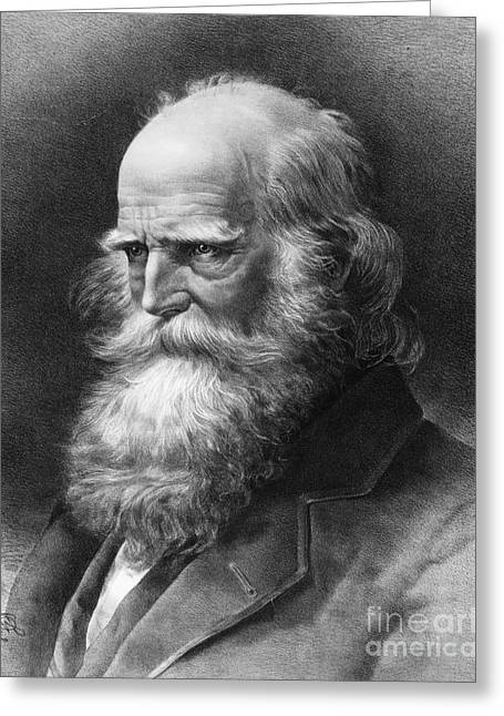 Bryant Greeting Cards - William Cullen Bryant Greeting Card by Granger