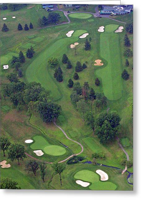 9th Hole Greeting Cards - 9th Hole Sunnybrook Golf Club 398 Stenton Avenue Plymouth Meeting PA 19462 1243 Greeting Card by Duncan Pearson