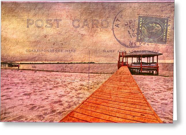 Florida House Greeting Cards - A Bit of Nostalgia Greeting Card by Debra and Dave Vanderlaan