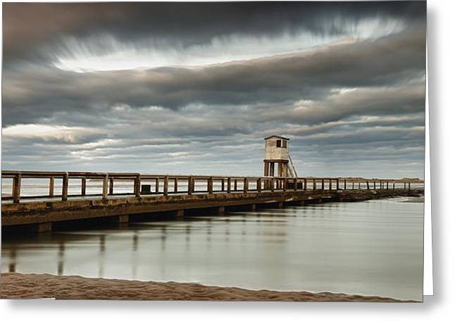 Short Sands Greeting Cards - A Causeway To Holy Island Greeting Card by John Short