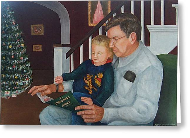 A Christmas Story Greeting Cards - A Christmas Story Greeting Card by Robert Harrington