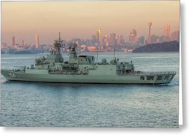 Anzac Greeting Cards - A Dawn Homecoming Greeting Card by Mark Lucey