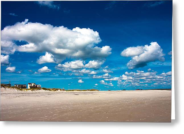 Topsail Island Greeting Cards - A Day to Dream Greeting Card by Betsy C  Knapp