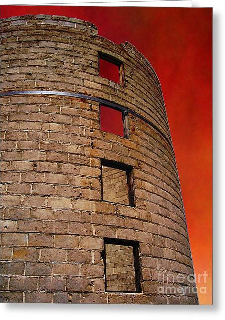 Llano Greeting Cards - A Desert Host 3  Strong Tower Greeting Card by Glenn McCarthy Art and Photography