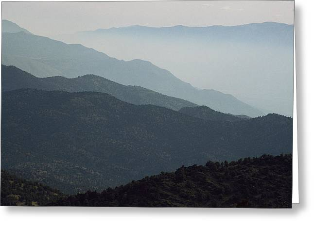 Owen County Greeting Cards - A Dust Storm In Owens Valley Greeting Card by Gordon Wiltsie