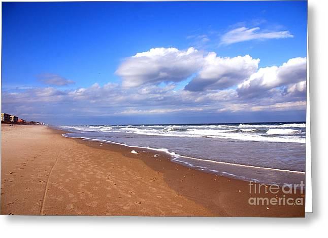 Day At The Beach Greeting Cards - A Fabulous Day at Cocoa Beach Greeting Card by Susanne Van Hulst