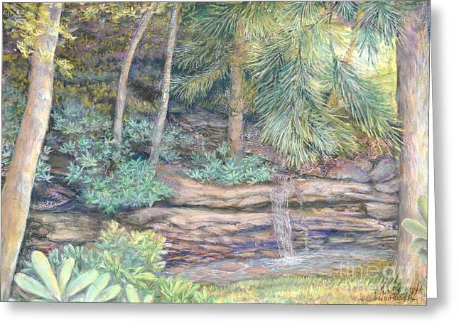 Formation Pastels Greeting Cards - A Favorite Place Greeting Card by Penny Neimiller