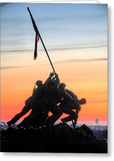 U.s. Marine Corps Greeting Cards - A Few Good Men Greeting Card by JC Findley