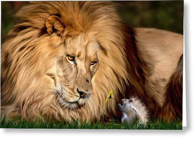 Big Cat Rescue Greeting Cards - A Gift for Cameron Greeting Card by Big Cat Rescue