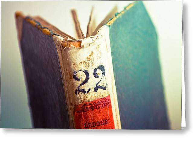 A Good Book is Hard to Find Greeting Card by Amanda Davis