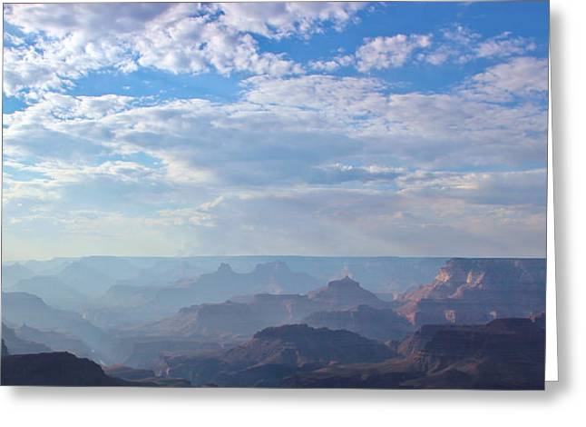 The Grand Canyon Greeting Cards - A Grand View Greeting Card by Heidi Smith
