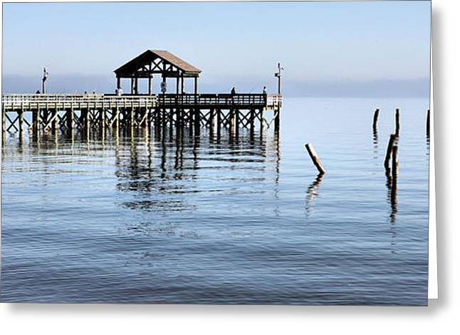 Md Greeting Cards - A Great Day to Fish Greeting Card by JC Findley
