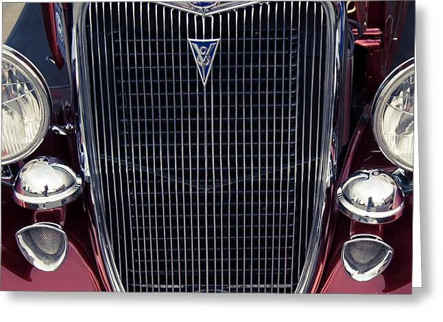 Jalopy Greeting Cards - A Grill To Remember Greeting Card by Steven Milner