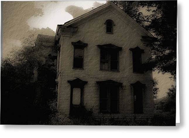 A Haunting Greeting Card by DigiArt Diaries by Vicky B Fuller