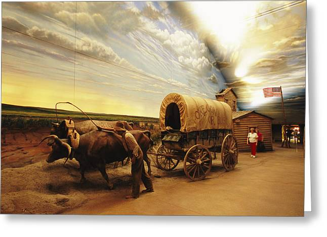 Vehicle Of Life Greeting Cards - A Historical Display At The Great Greeting Card by Joel Sartore