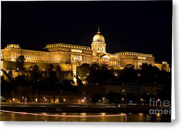 Gold Buyer Greeting Cards - A Kings Palace Greeting Card by Syed Aqueel