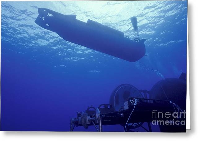 Special Delivery Greeting Cards - A Mark 8 Seal Delivery Vehicle Greeting Card by Michael Wood