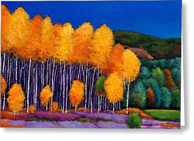 Aspens Greeting Cards - A Moment in Time Greeting Card by Johnathan Harris