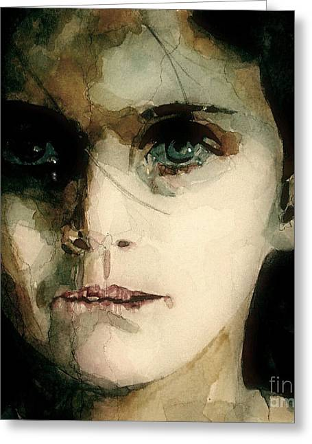 Child Greeting Cards - A Moments Thought For Those Who have Not Greeting Card by Paul Lovering