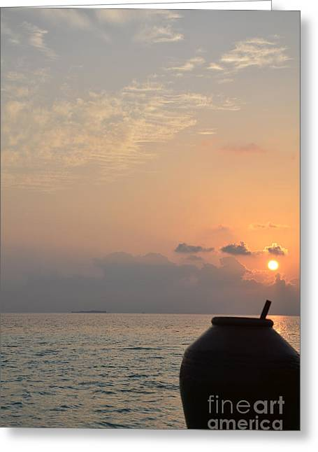 Beach Photos Greeting Cards - A New Beginning  Greeting Card by Corinne Rhode