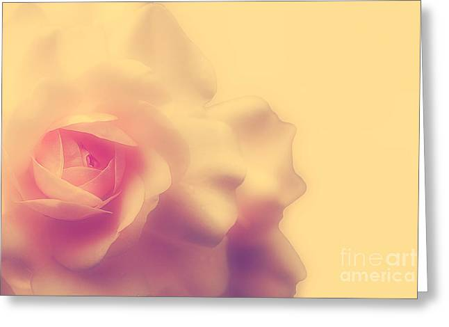 Apricot Digital Art Greeting Cards - A New Day Greeting Card by Lois Bryan